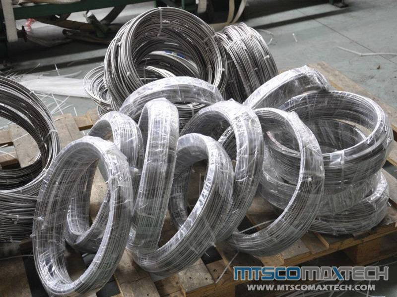 SEAMLESS STAINLESS STEEL ASTM A213/A269 304/316 SMALL SIZE TUBING IN COIL