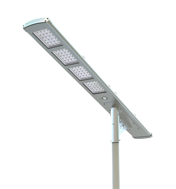 80w pir sensor integrated solar led street light motion sensor all in one solar garden light