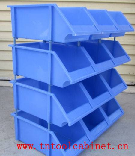 plastic Stackable Storage Bins for warehouse