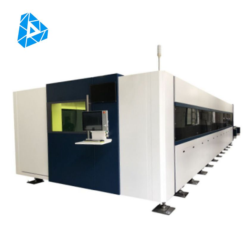 High Power High Quality CNC Metal Fiber Laser Cutting Machine