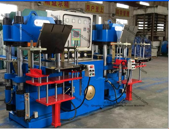 Barbell Dumbell Rubber Comprssion Molding Press Machine,Rubber Press