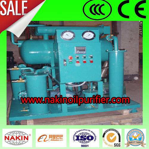 ZY single stage vacuum transformer oil purifier