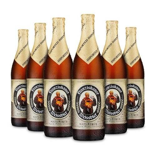 Beer Franziskaner Hefe-Weissbier Hell