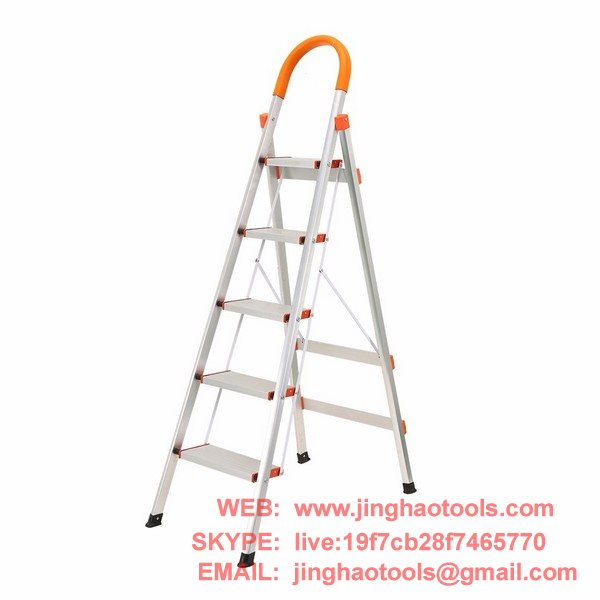 Swell 5 Step Aluminum Ladder Folding Platform Stool Zhejiang Squirreltailoven Fun Painted Chair Ideas Images Squirreltailovenorg