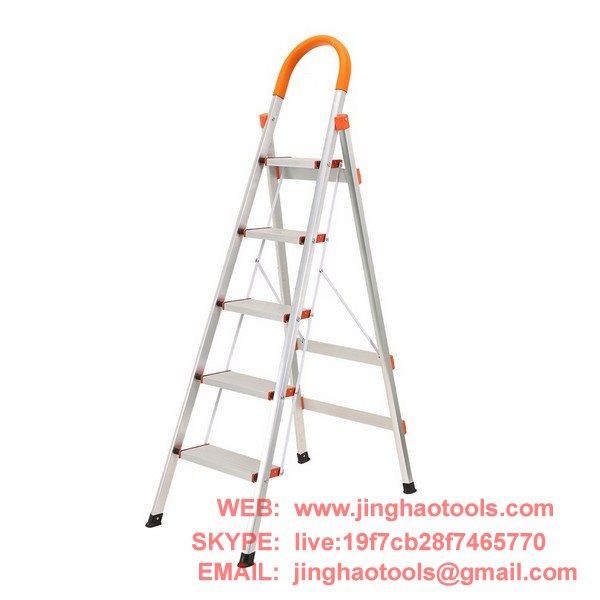 Excellent 5 Step Aluminum Ladder Folding Platform Stool Zhejiang Machost Co Dining Chair Design Ideas Machostcouk