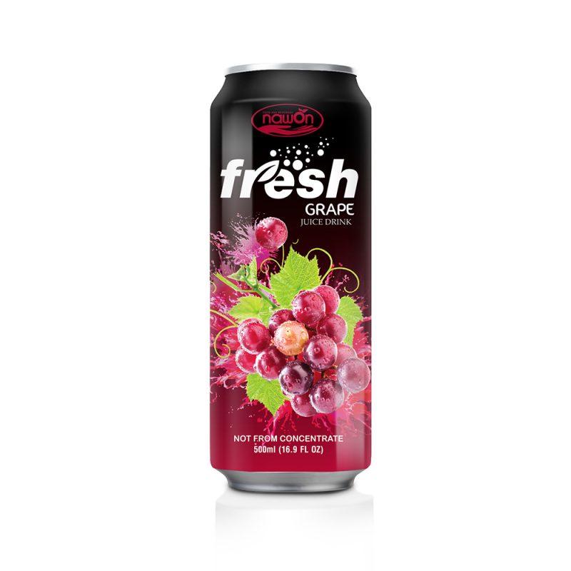 16.9 fl oz Canned Fresh Grape Juice Drink