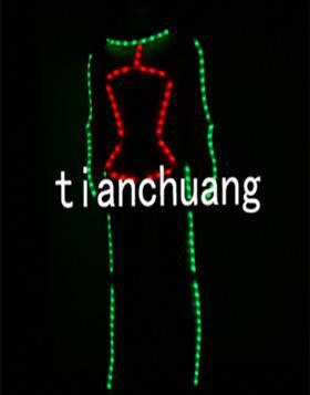 LED Dance Costumes Luminous Costumes