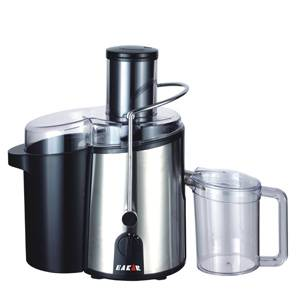 Power Juicer, 750W, Stainless steel appearance, 75mm big feed for whole apple, Stable feet with stro