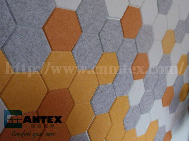 100% Polyester Fiber Acoustic Panels Wall Acoustic Panels Sound Insulation Boards Colorful Acoustic