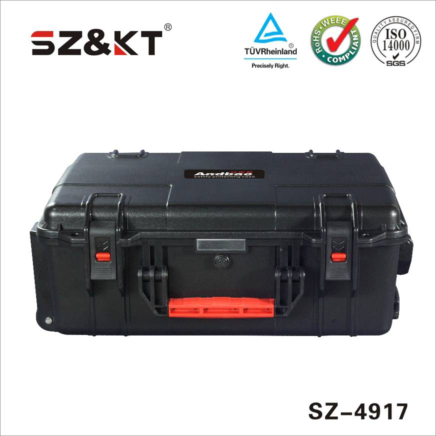 high impact rugged trolley tool case