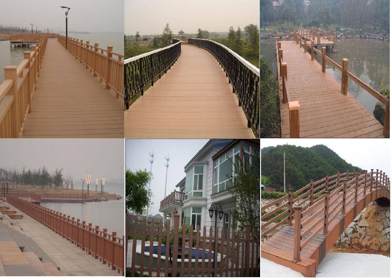 wpc outdoor fence and railing