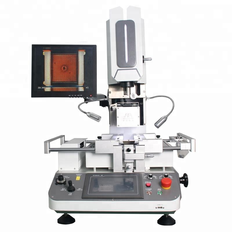Optical Automatic LED/BGA/SMD Rework Station ZM-R720A SMT PCB PCBA motherboard soldering desoldering
