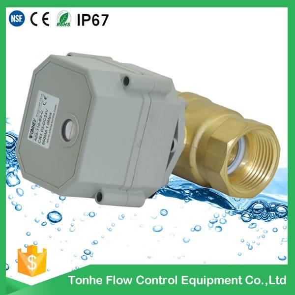 DN20 NSF61 garden hose water irrigation mini shut off ball valve 3/4 inch