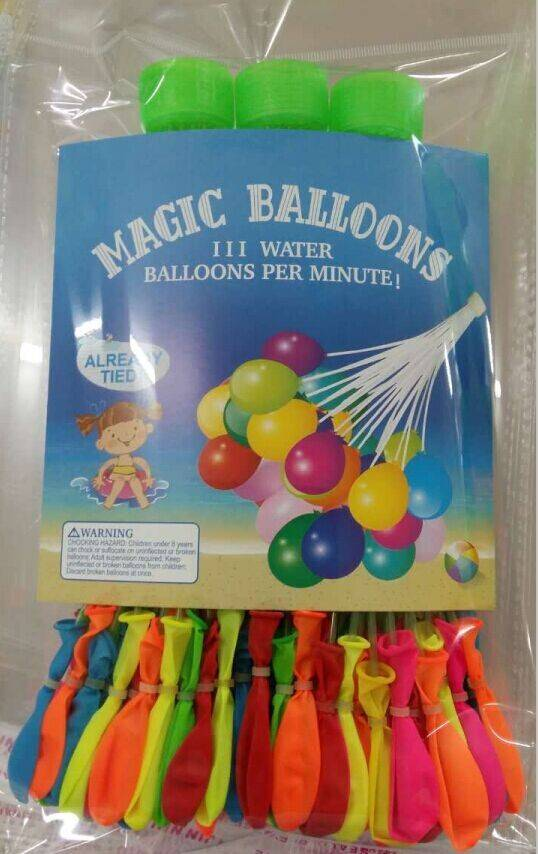37 pcs/ bunch o f water balloons magic water balloon