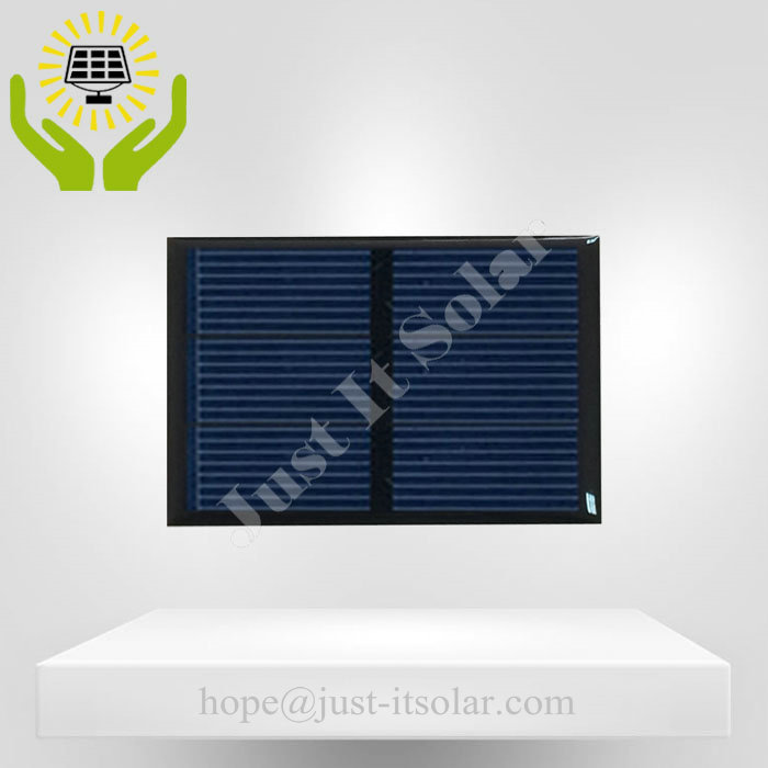 1.5 Volt 500mA Resin Encapsulated Solar Cell