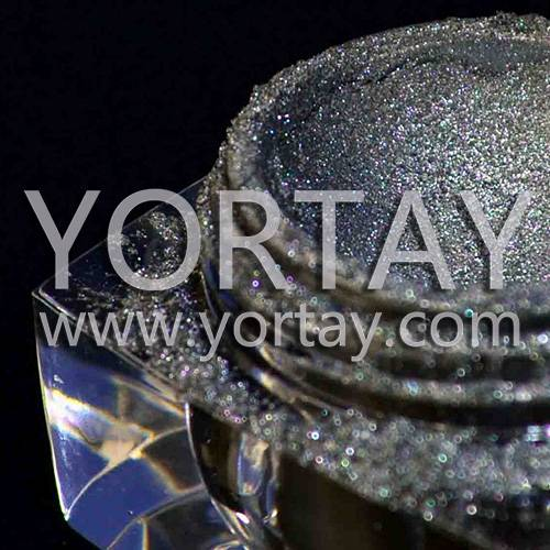 Yortay Titanium Crystal Pearls, Crystal Emerald Pigment