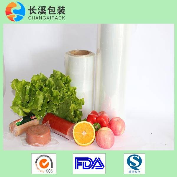 EVOH/PA/PE 7-layer co-extruded food vaccum pouch