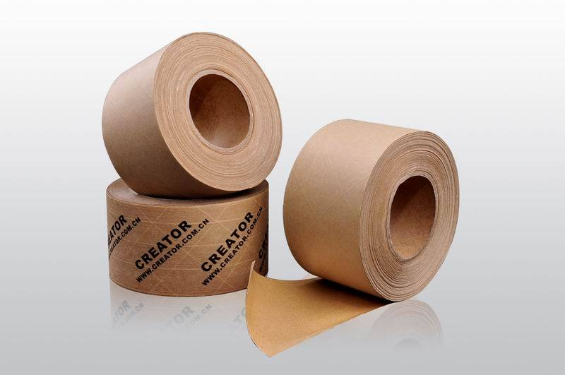 Water-activated Kraft Paper Tape