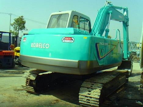 Used Kobelco SK120 Excavator repaint