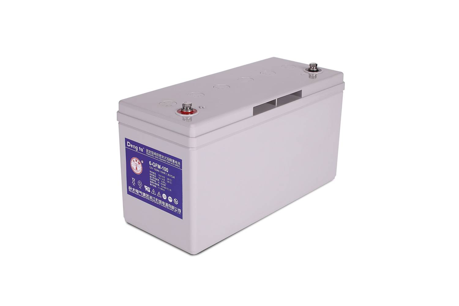 12V 100AH Rechargeable lead acid battery for UPS, Telecom, Power Storage