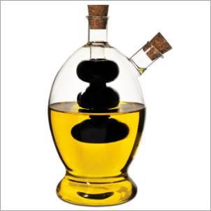 china factory cheap price reusable cookingware clear high borosilicate glass oilve oil cruet bottle