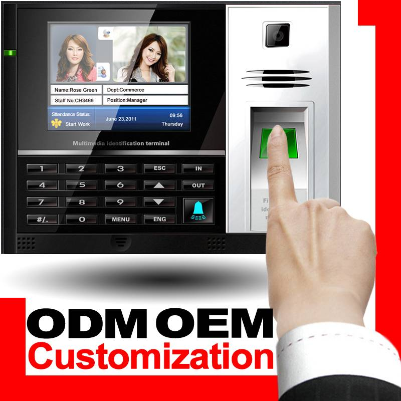 WEDS Biometric time attendance machine with access control