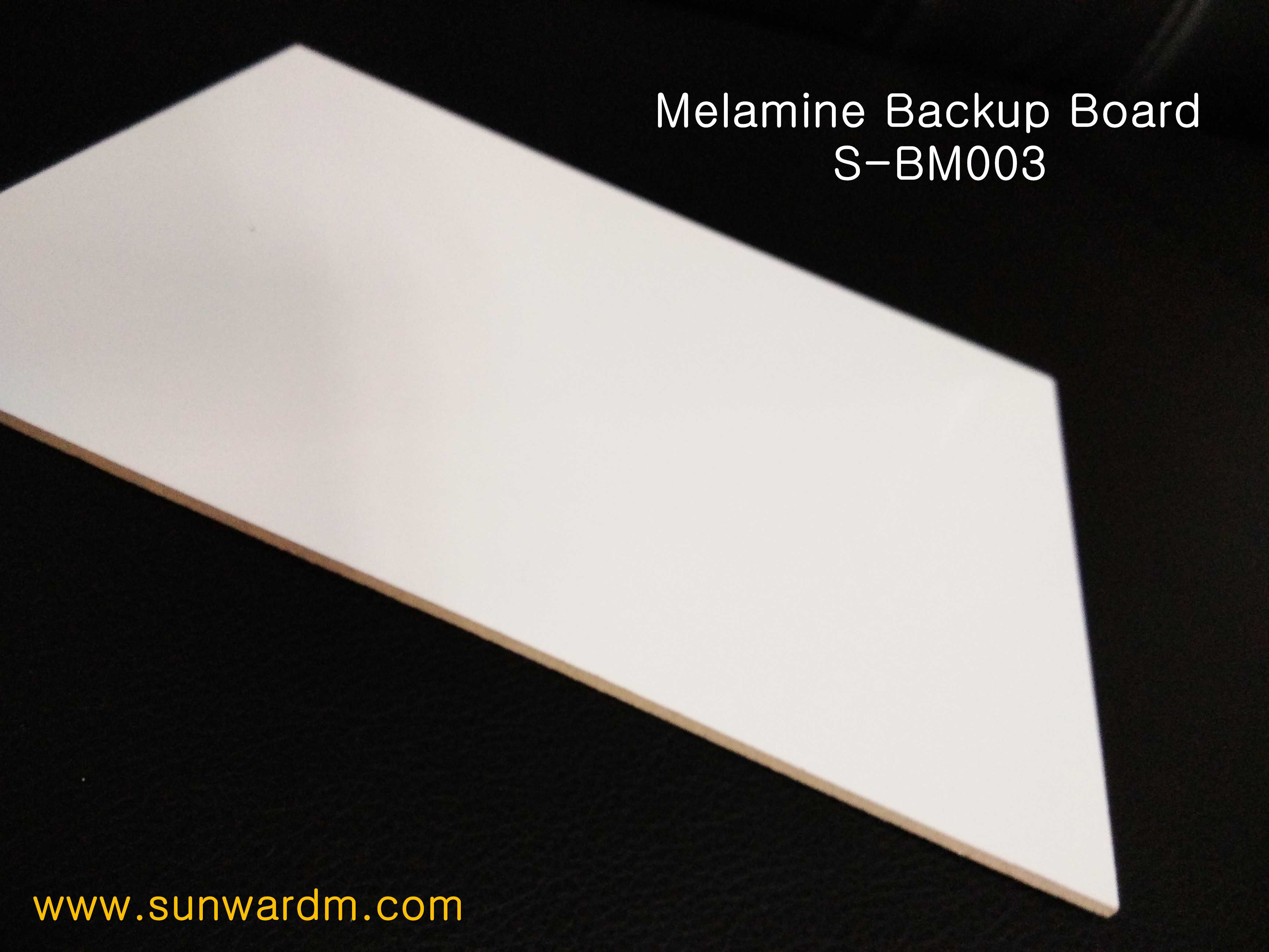 Melamine Backup board