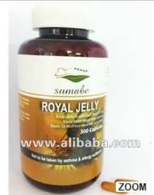 Sumabe Royal Jelly , Royal Jelly Lyophilised (bee) 200mg, Equiv fresh Royal Jelly 600mg