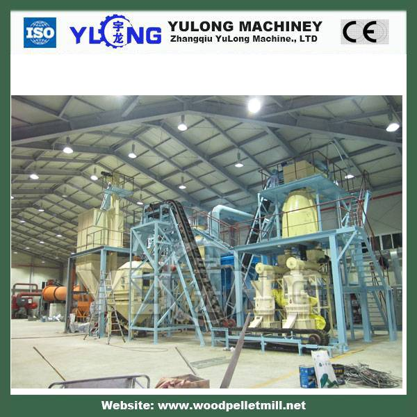 2-3t/h automatic wood pellet making machine production line
