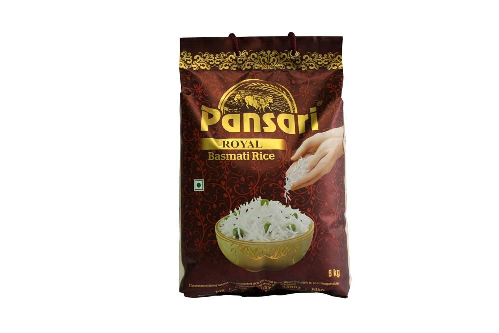 Pansari Royal Basmati 5kg (Pack of 4)