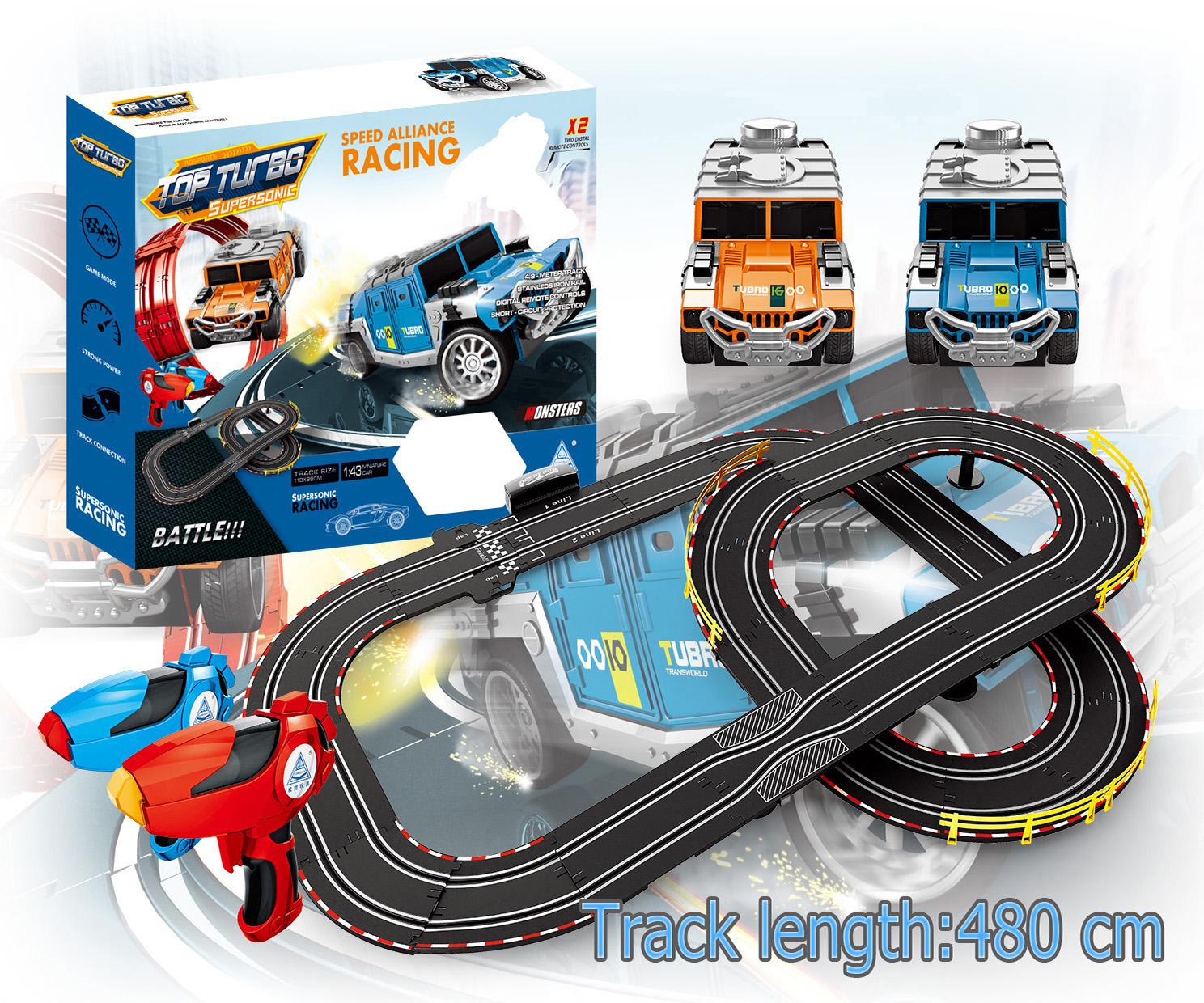 Soba 480CM 1:43 rc toy mini jeep toys car slot car track Shantou toys