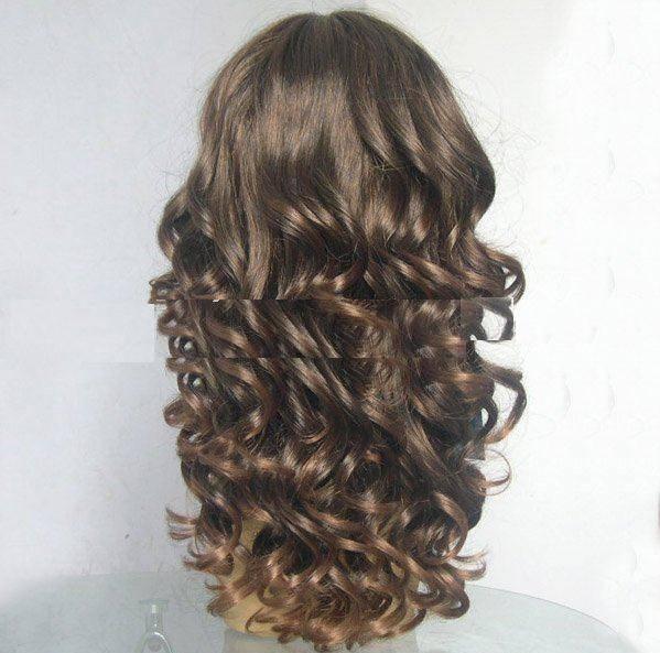 Beautifull super quality highlight blond fashion kosher wig