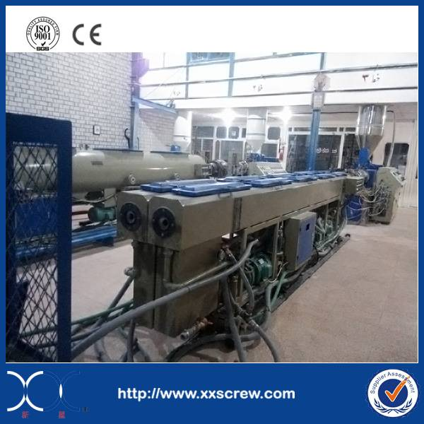 PVC pipe produce machine line