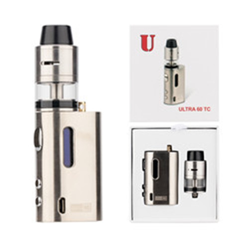 Vaporizer-Starter Kit Vape Box Vapor Black Muilt temperature Vapor Ultra RDTA 60 TC kit