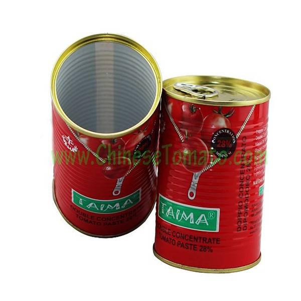 Canned Tomato Paste, Sachet Tomato Paste