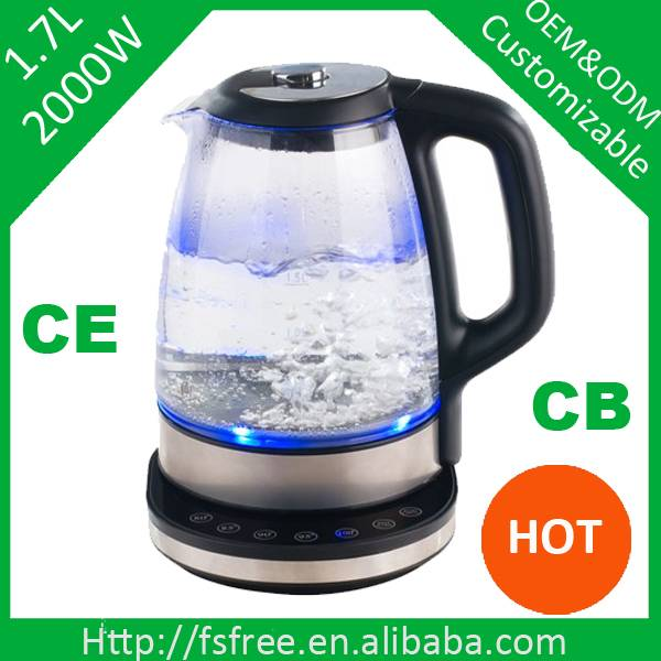 Intelligence glass electric kettle for milk/coffee kettle