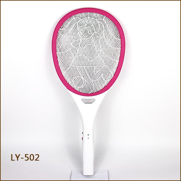 Mosquito Fly Swatter Kill Mosquito Fly/Handle Bug Zapper/Electronic Fly Killer