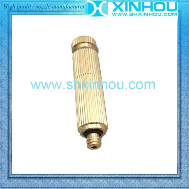 High pressure micro brass mist spray nozzle