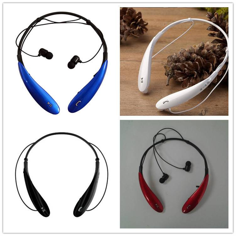HBS800 Sportwireless Bluetooth stereo headphone neckband support call,music,multipoint connection