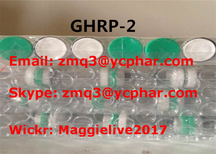 High Purity Muscle Building Supplements 5 Mg/Vial Peptides GHRP-2 CAS 158861-67-7
