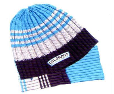 knitted hat set