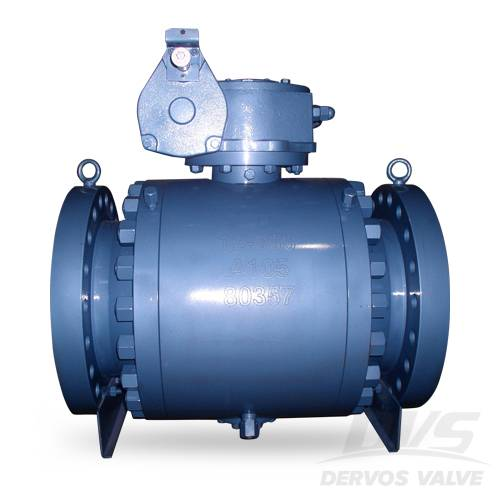 China Trunnion Mounted Ball Valves