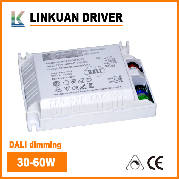 dimming LED driver 64W compatibility with DALI system LKAD068D