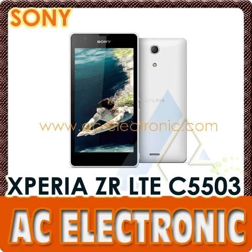 Sony XPERIA ZR LTE C5503 White
