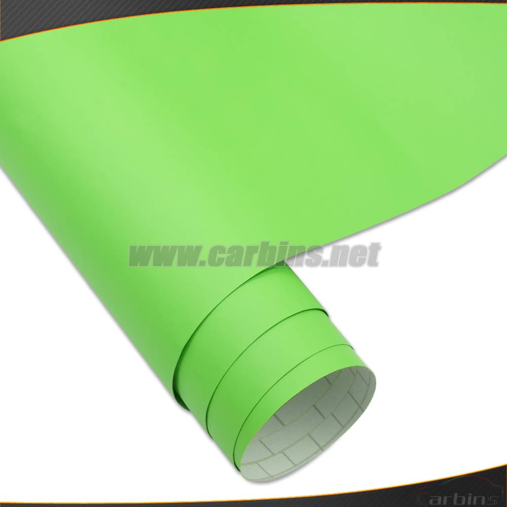 High Quality 1.52*30m Air Bubble Free Matte Color Changing Car Stickers