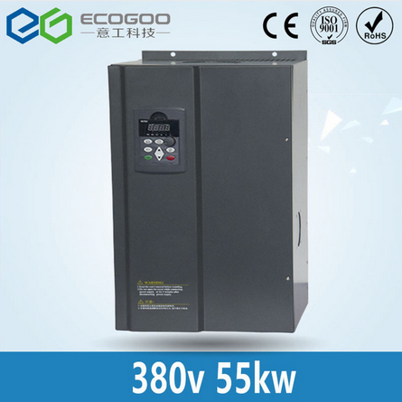 55KW Frequency Converter/3 Phase 380V/110A Frequency Inverter--Free Shipping-V/F control 55KW Freque