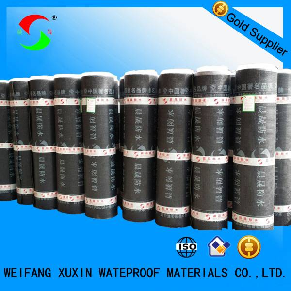3mm/4mm sbs modified bitumen waterproof membrane
