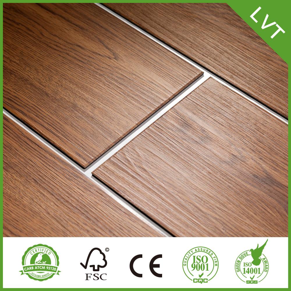 Dryback vinyl flooring