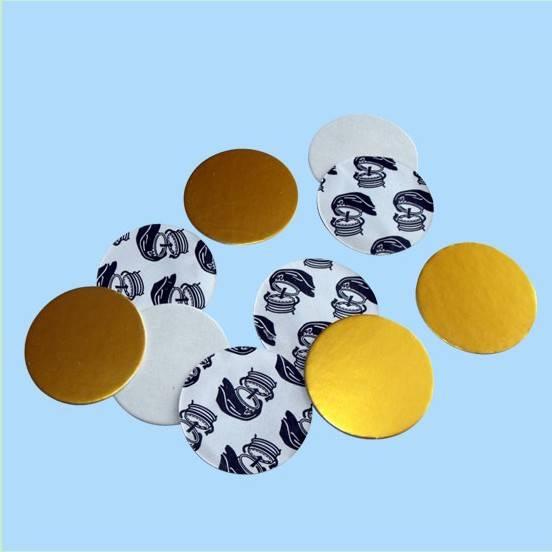 PET Induction seal liner(golden high-resistance)
