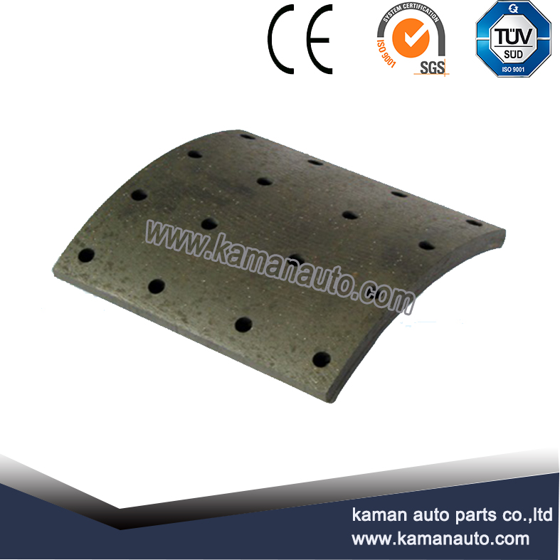 GG92(19111) Drilled and Undrilled Brake Lining Manfacturer For Trucks